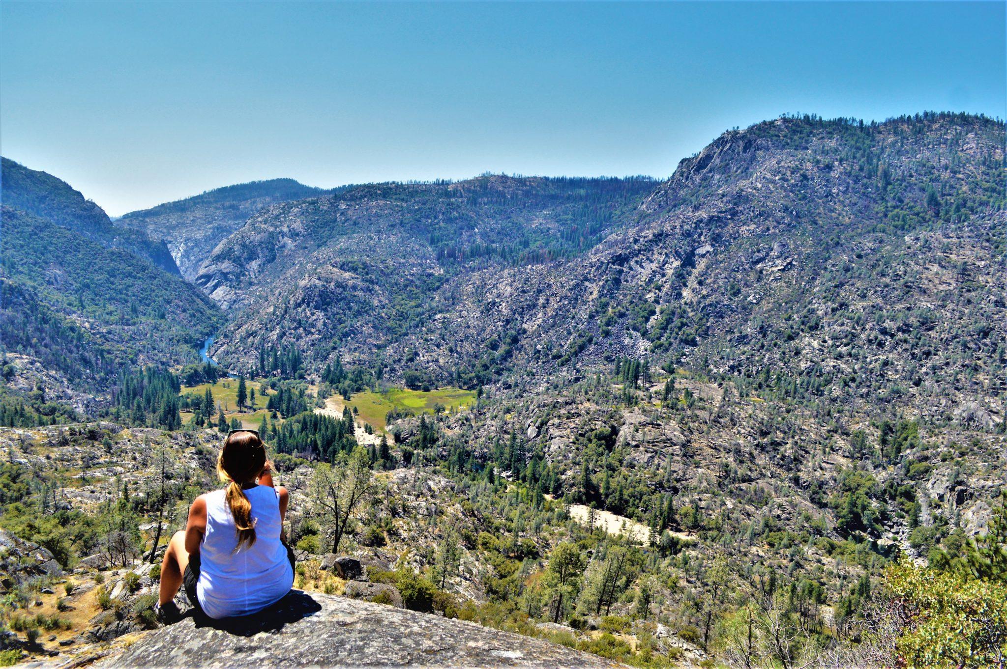 View at Hetch Hetchy, California