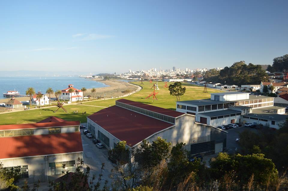 Views from bike ride, Sausalito, Golden Gate Bridge, San Francisco