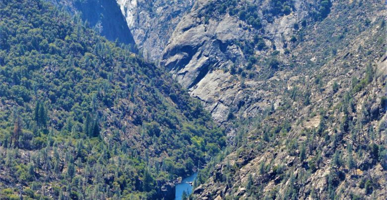 Water at Hetch Hetchy, Yosemite, California