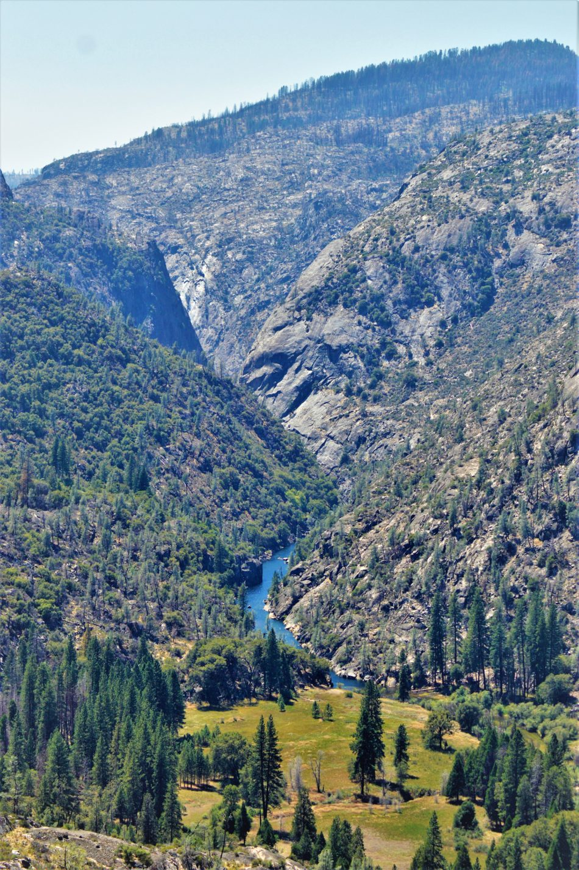 Water at Hetch Hetchy, Yosemite, California