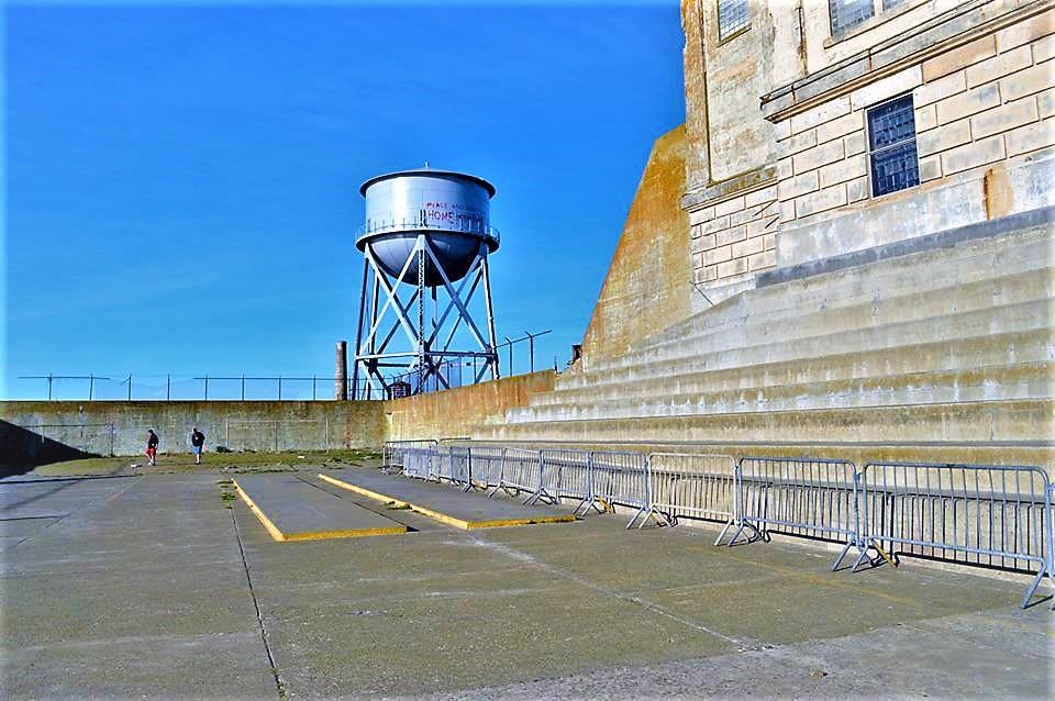 Yard, Alcatraz Prison, San Francsico, California