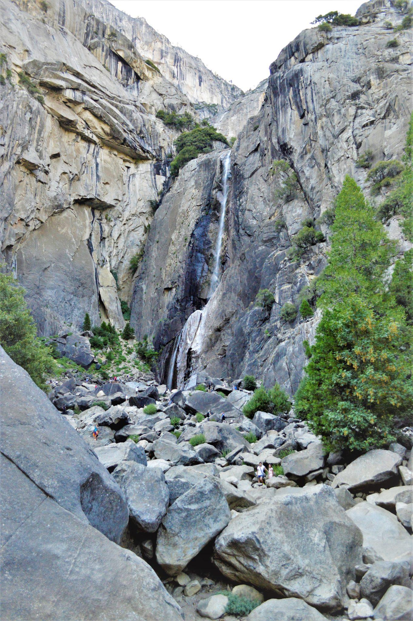 Yosemite lower falls, California, things to do at Yosemite