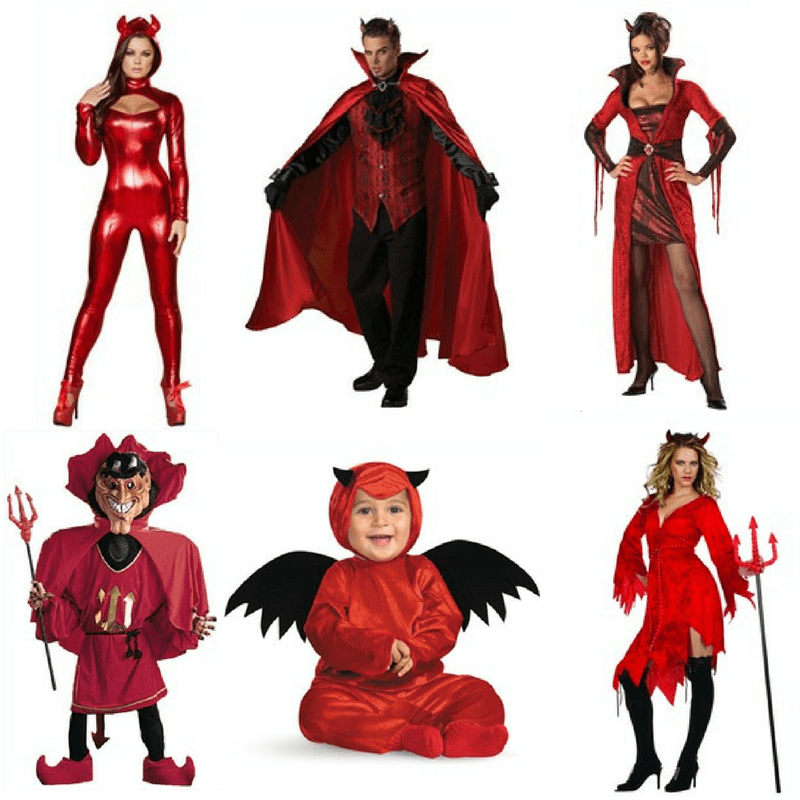devil halloween costume ideas