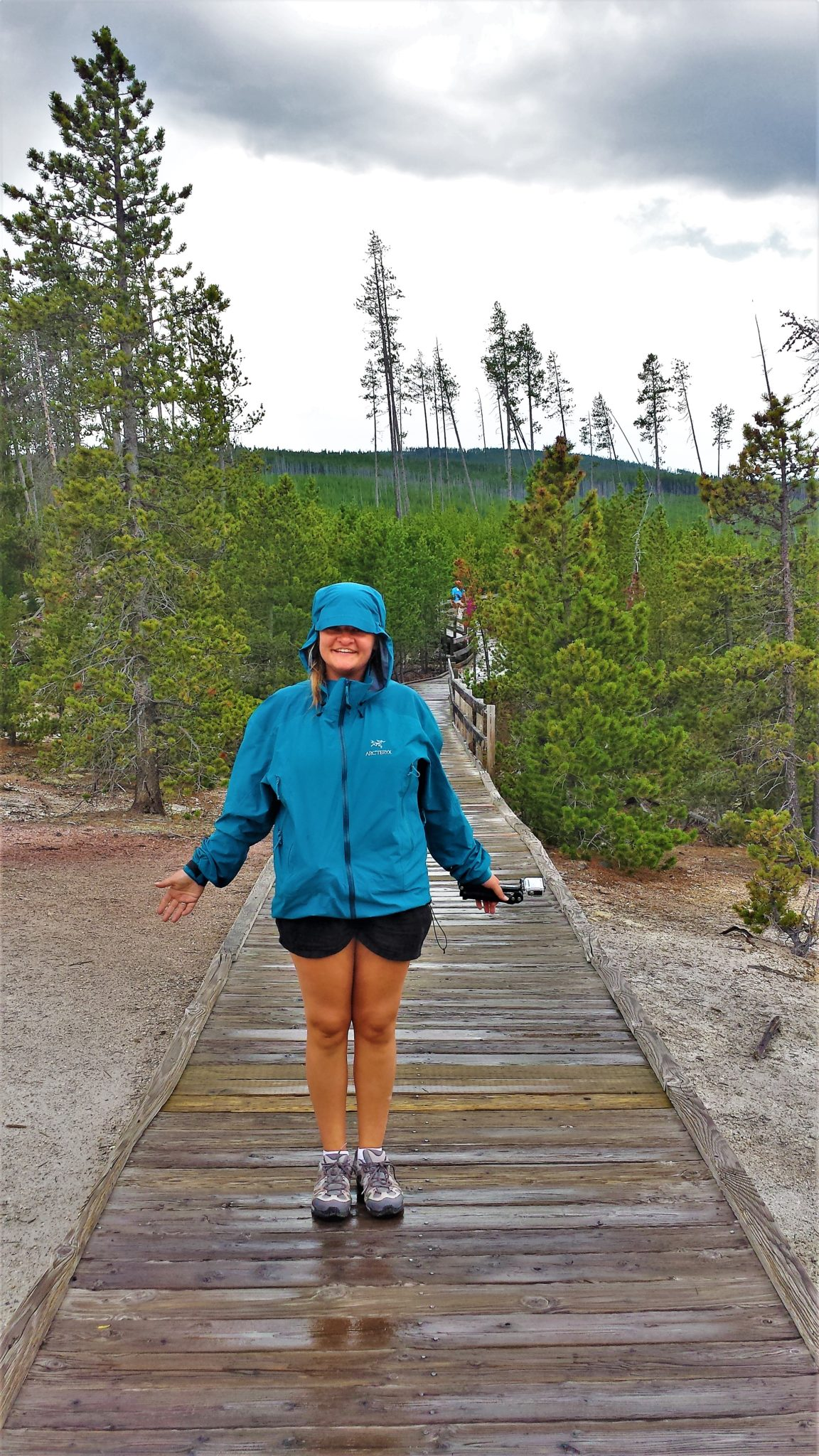 Arcteryx yellowstone national park, review of beta jacket