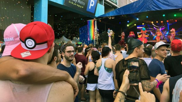 Australia gay bars, Fortitude Valley in Brisbane