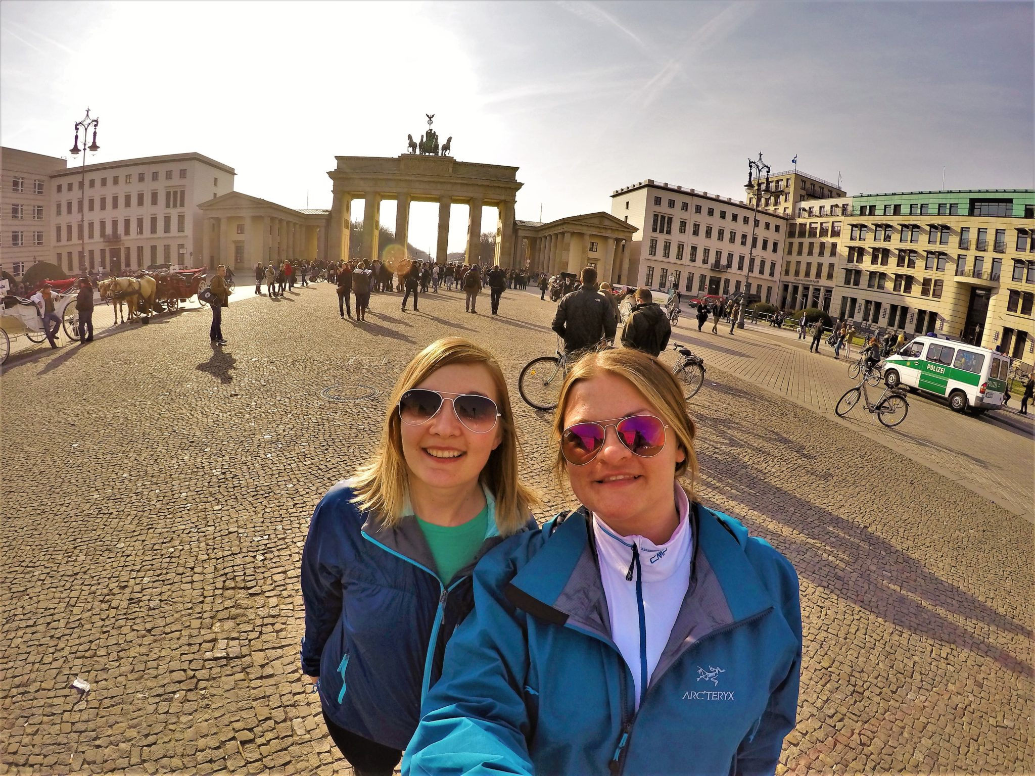 Brandenburgh-Gate-Berlin-Arc'teryx Beta SL Jacket