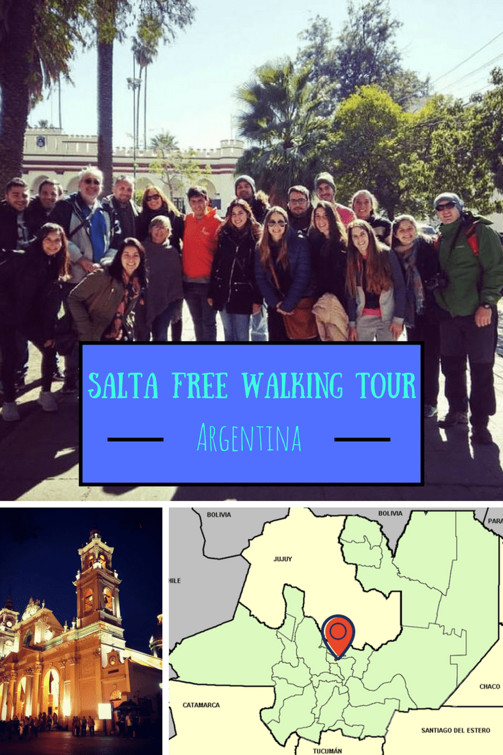 Free Walking Tour Salta Argentina, Pinterest