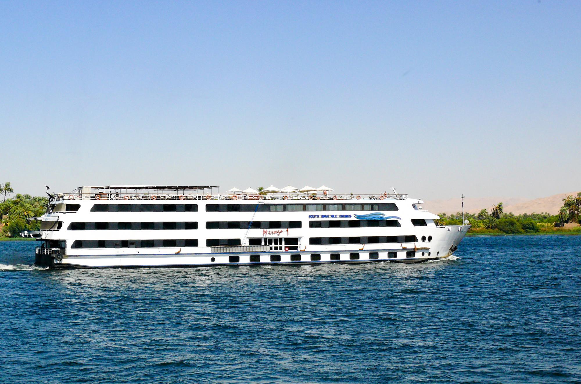 Nile River Boat, Egypt