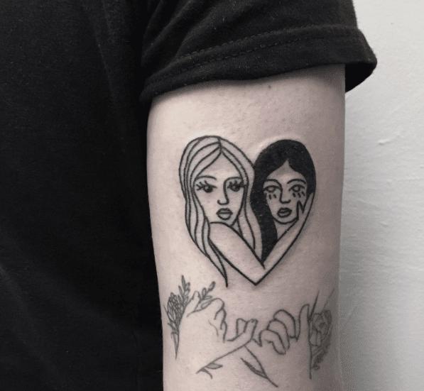 lesbian lgbt tattoo ideas