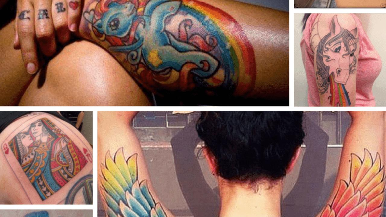 40 Top Lesbian Tattoo Ideas Rainbow Tattoos