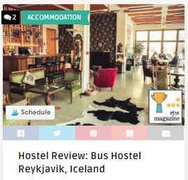 Bus Hostel Review Iceland