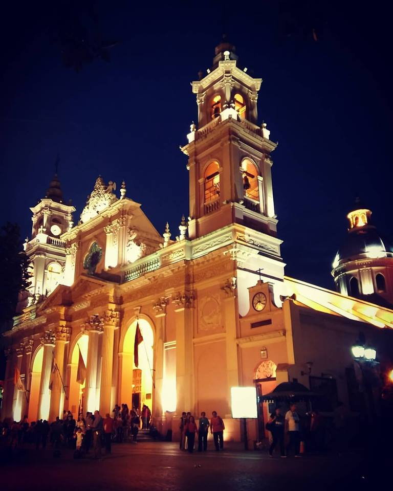 Salta Walking Tour cathedral salta, Salta free Walking Tour, Argentina