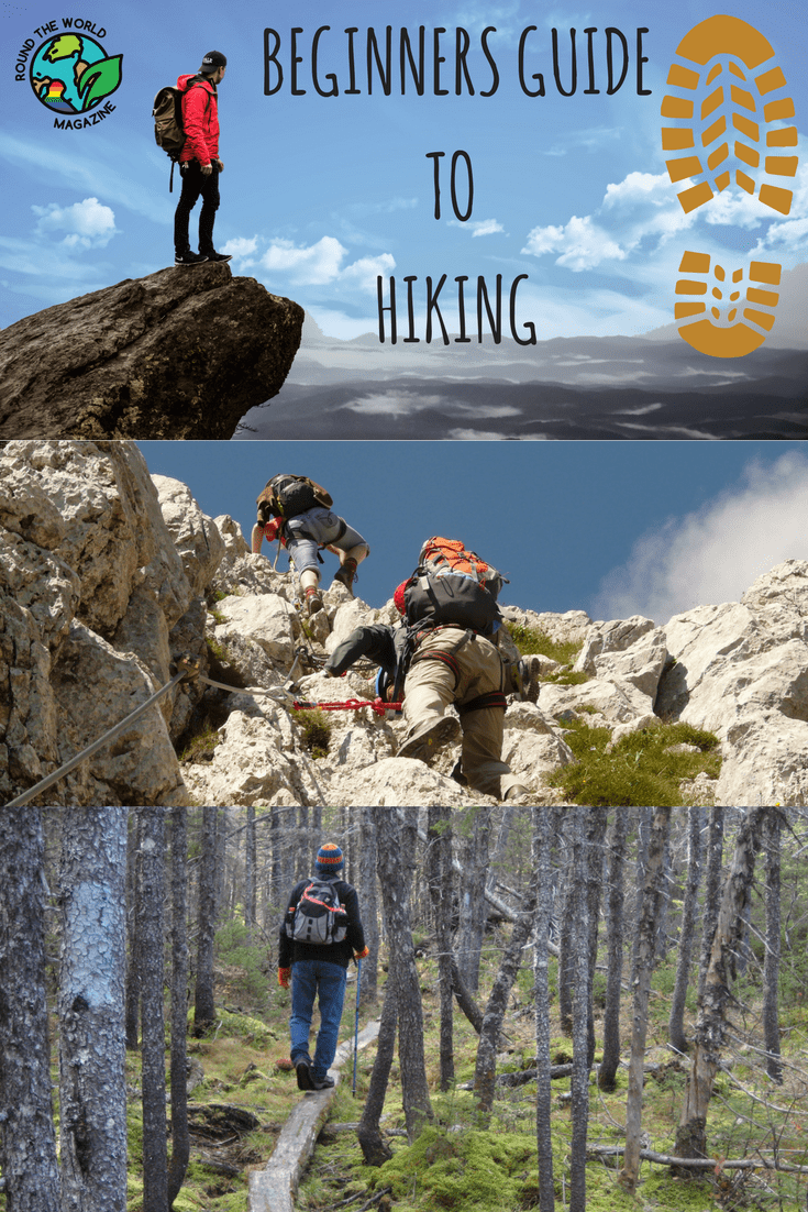 Beginners guide to Hiking, travel tips, pinterest