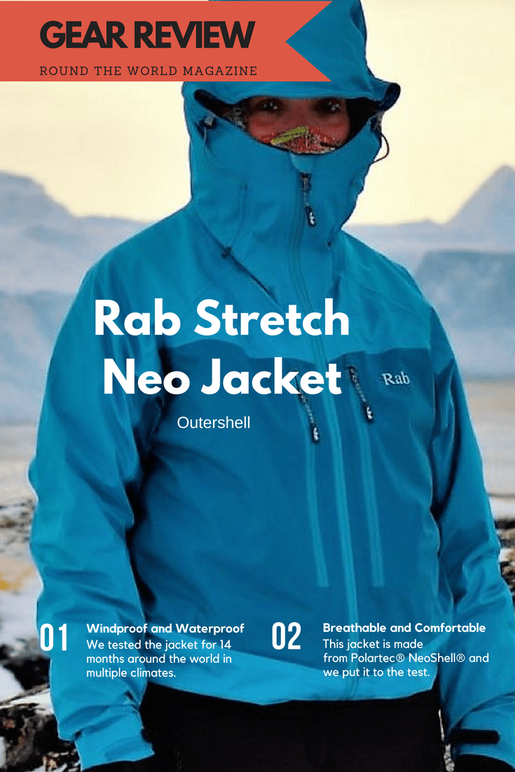 GEAR REVIEW, Women's Rab Jacket Stretch Neoshell, Polartec
