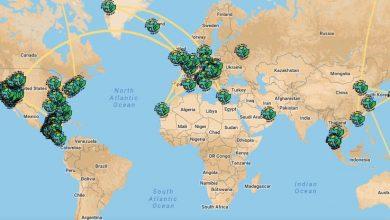 Round the world magazine tracker