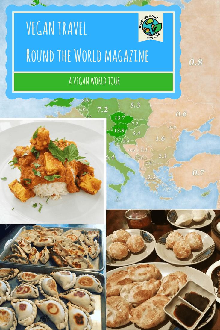 Vegan Travel, vegan travel guide, round the world vegan tour