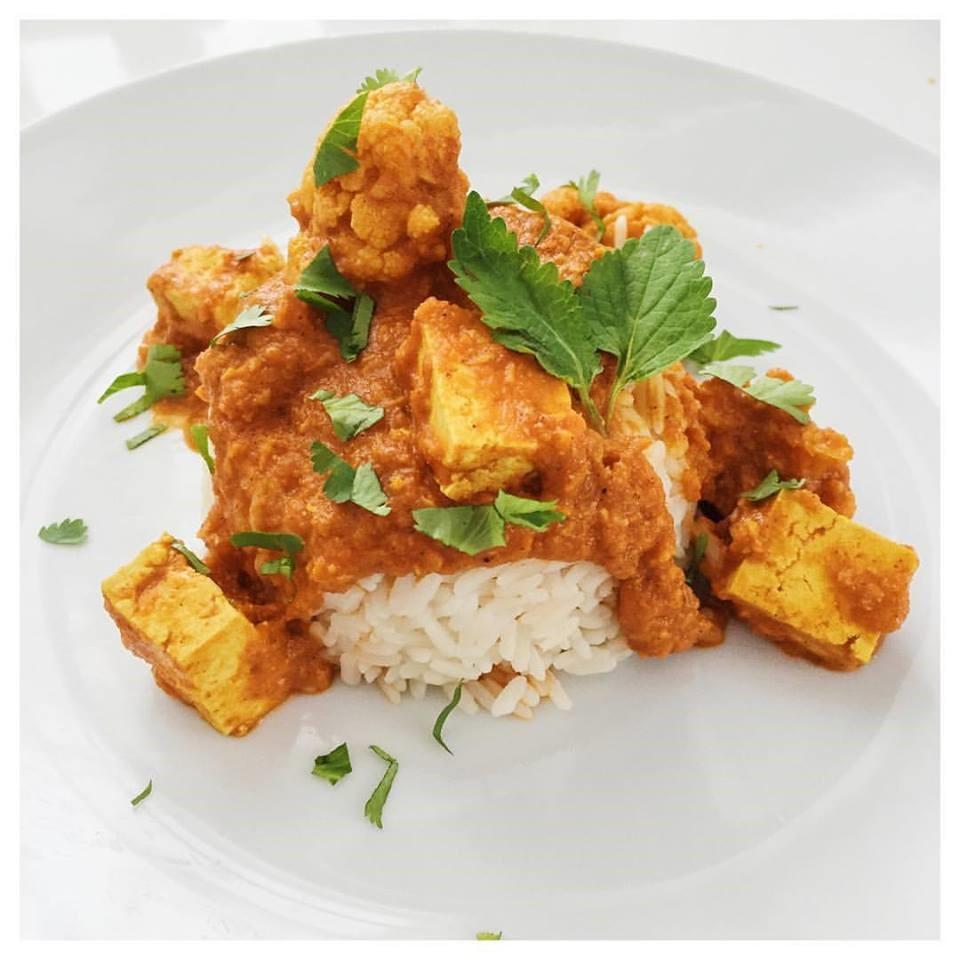 Tofu Korma, vegan curry recipe
