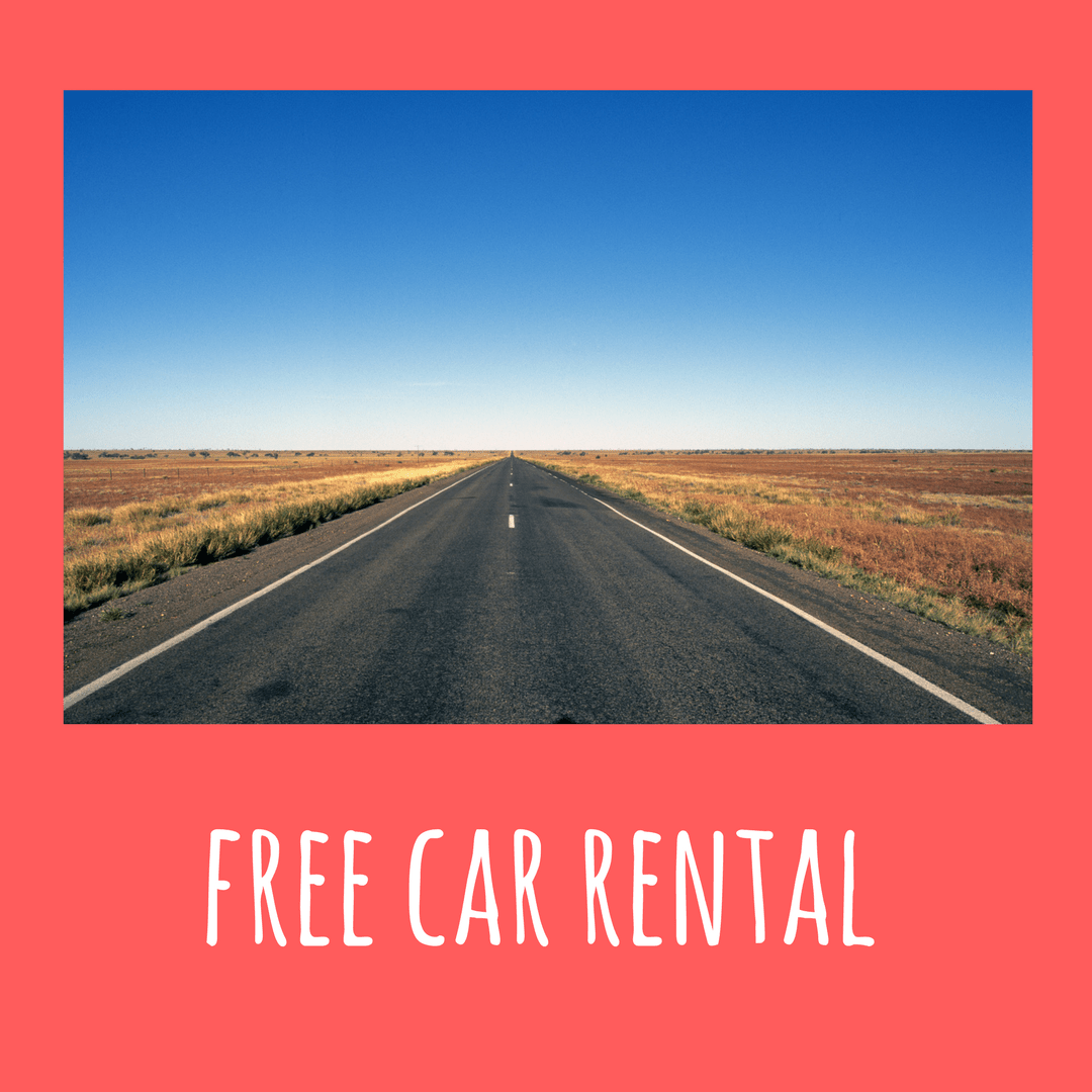 How to get free car rental around the world