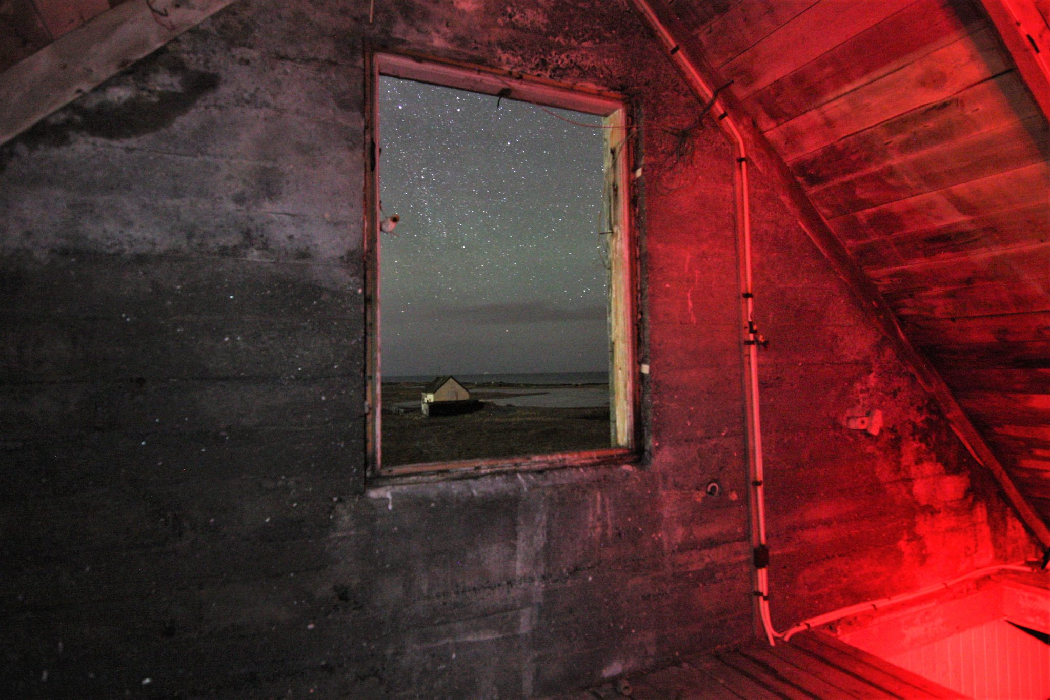 Inside haunted house reykjavik, iceland