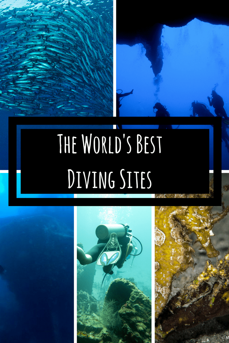 The World's Best Diving Sites