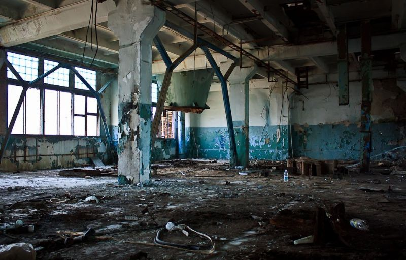 Abandoned Chemical Plant, things to do in Kiev
