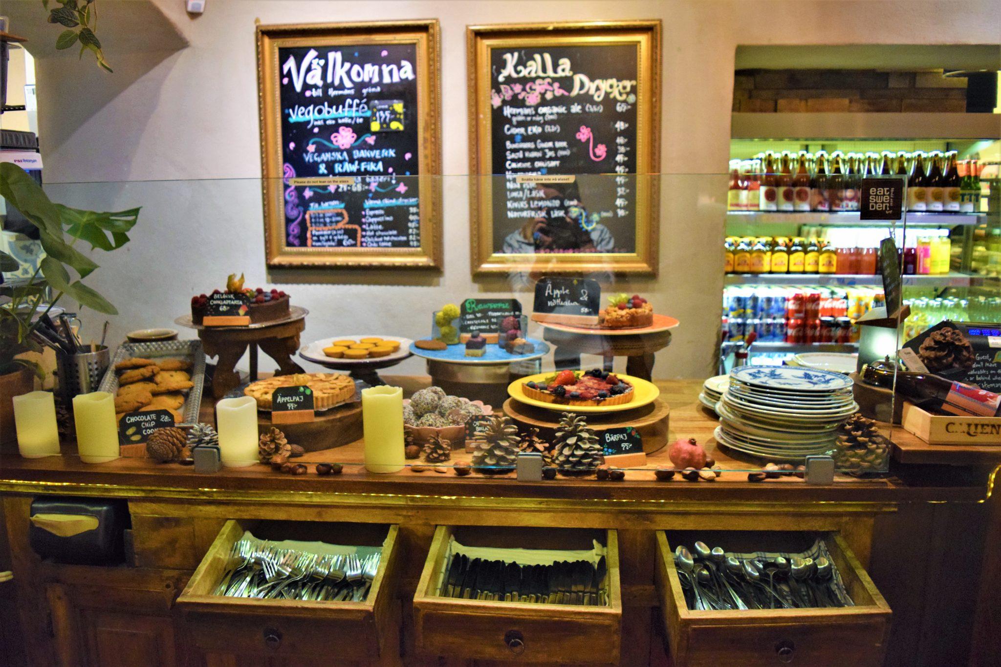 Hermans vegan desserts, stockholm, sweden