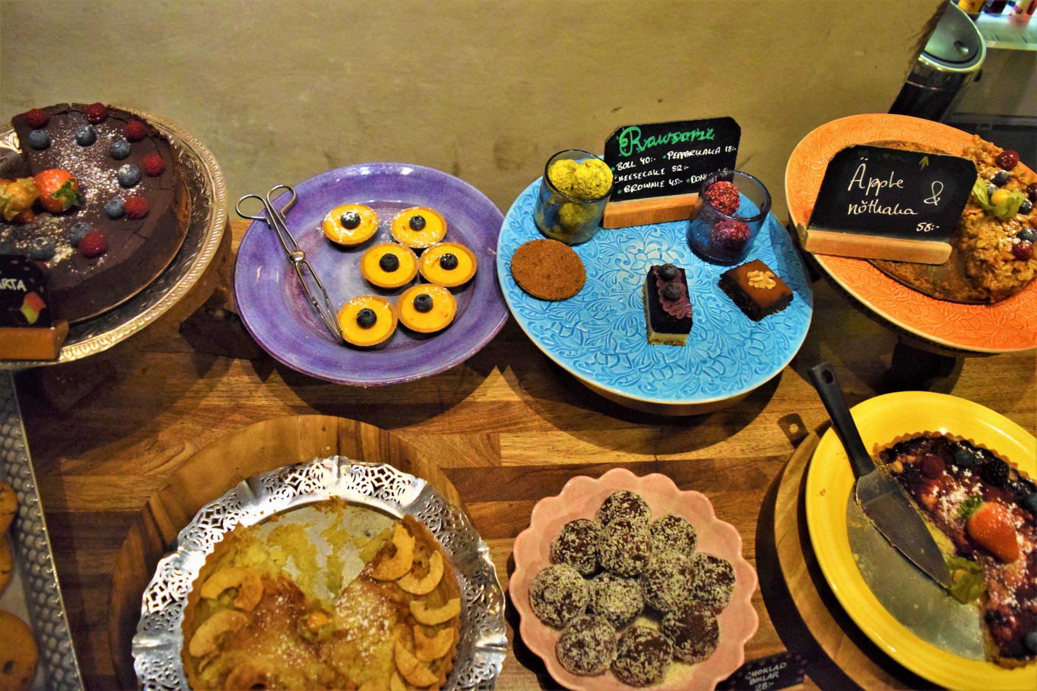 Hermans desserts, stockholm, sweden
