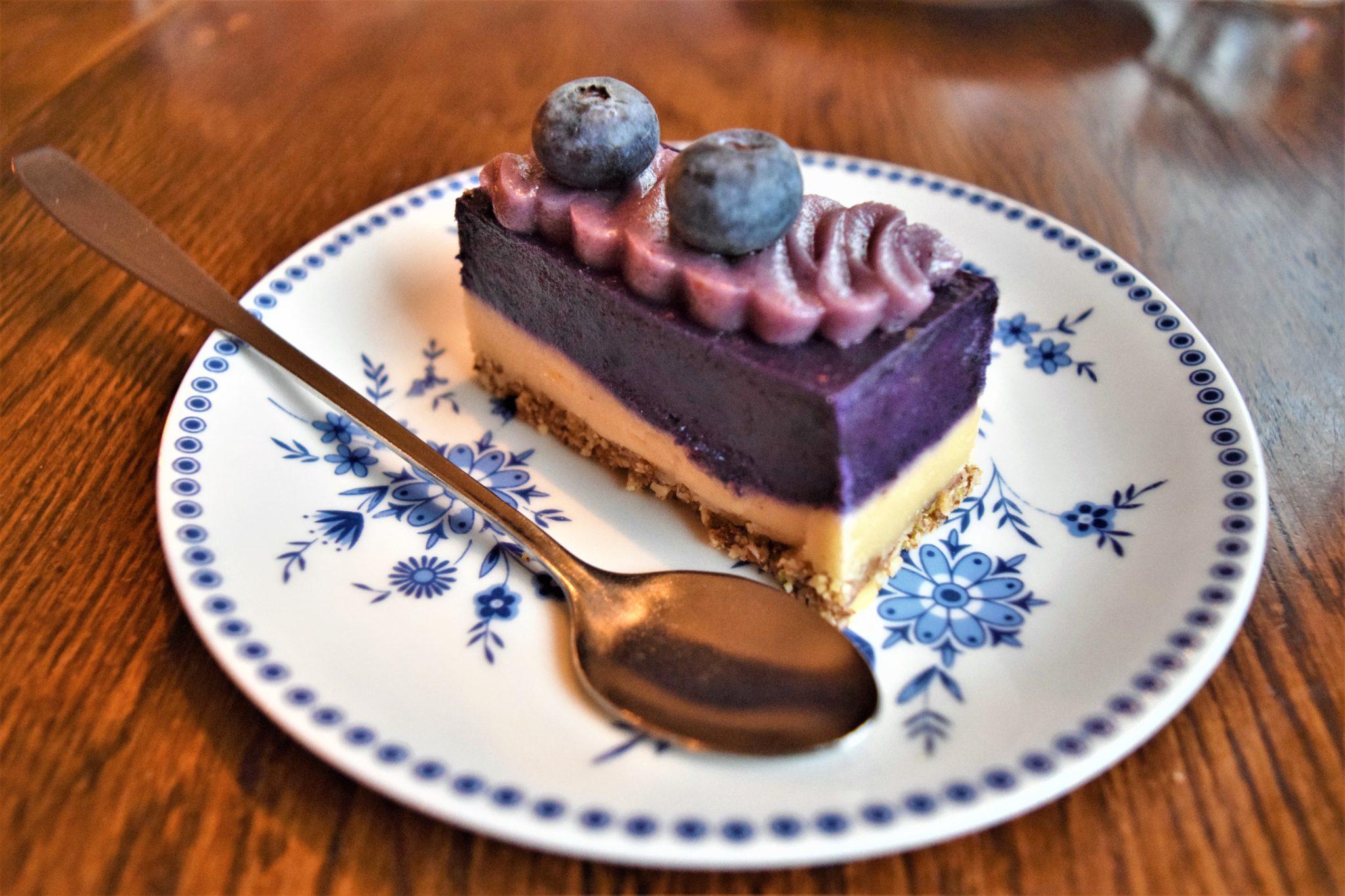 Vegan dessert, stockholm, sweden, hermans buffet