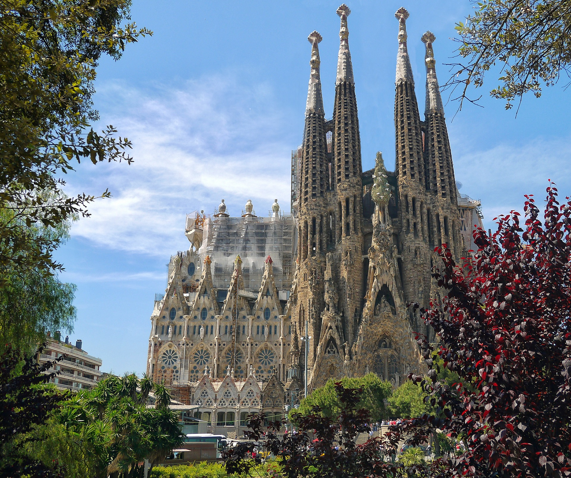 sagrada familia barcelona, top places to see in Spain