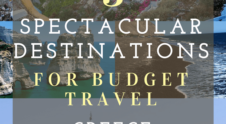 3 Great Greek Destinations For Budget Travel