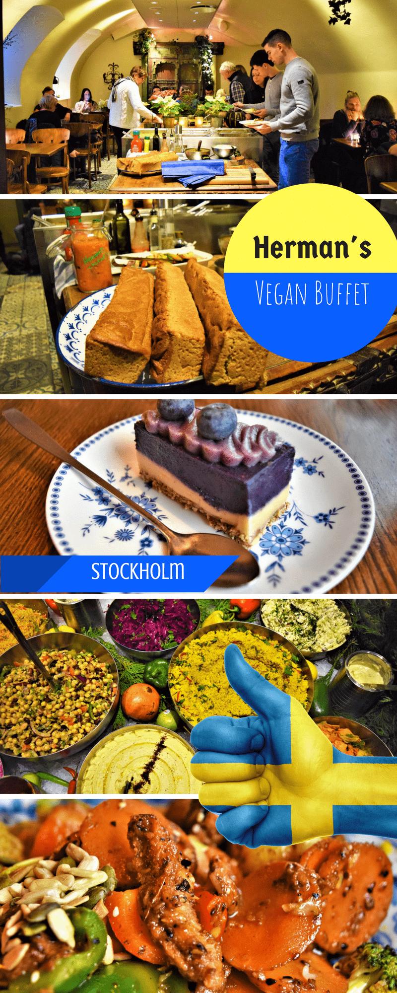 Herman's vegan buffet stockholm sweden