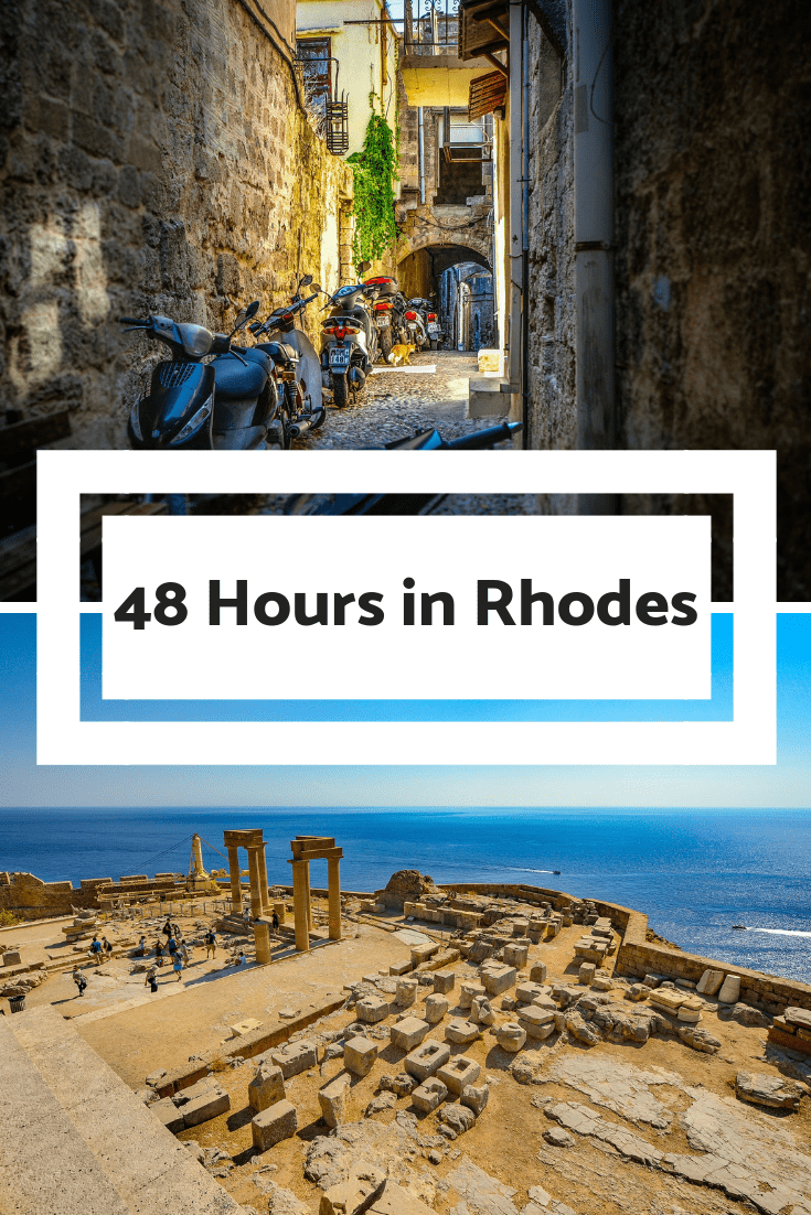 48 Hours in Rhodes