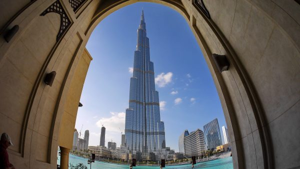 Burj Khalifa tallest building in Dubai