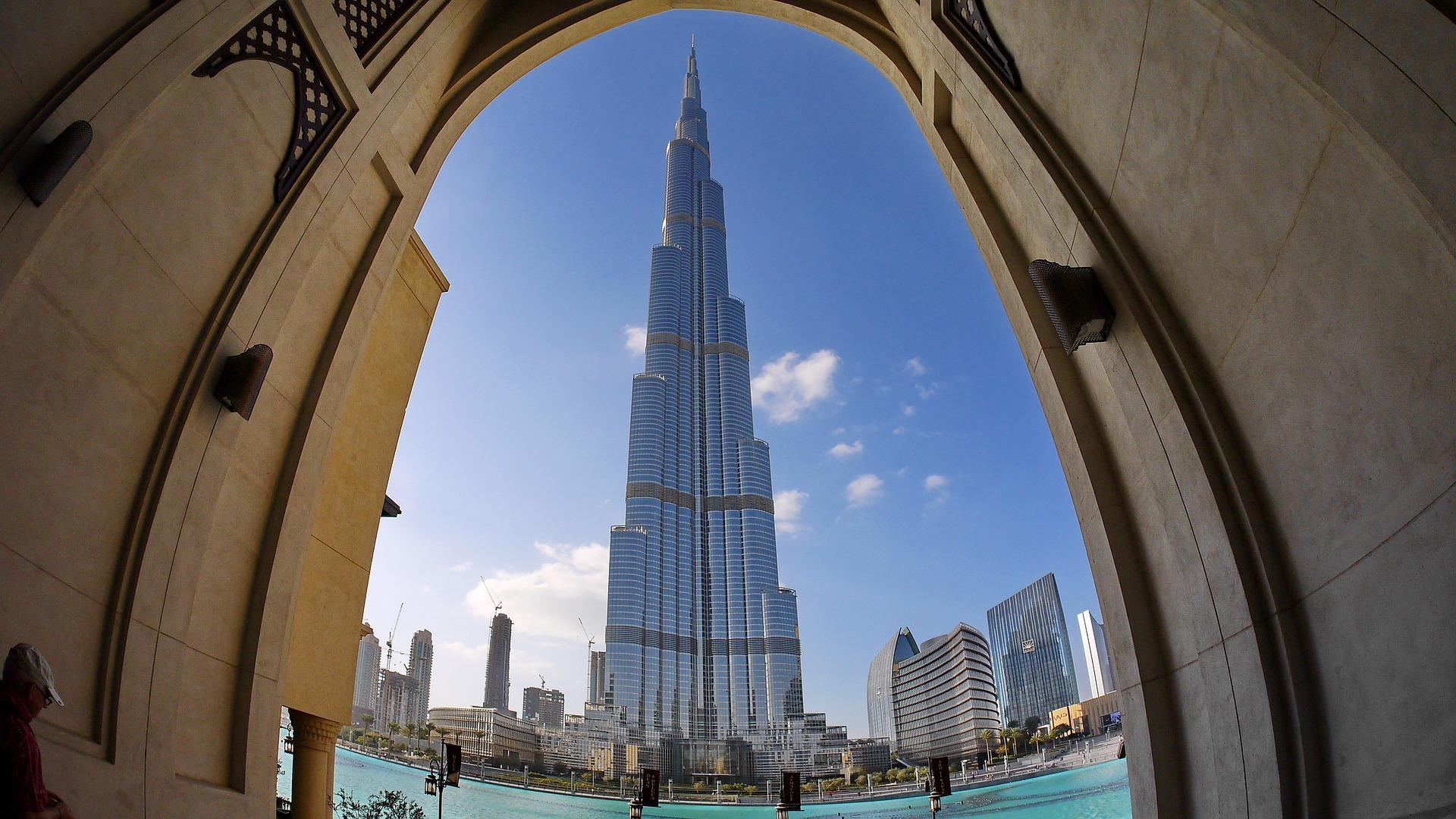 BurjKhalifa in Dubai