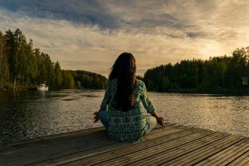 stress free travel, yoga