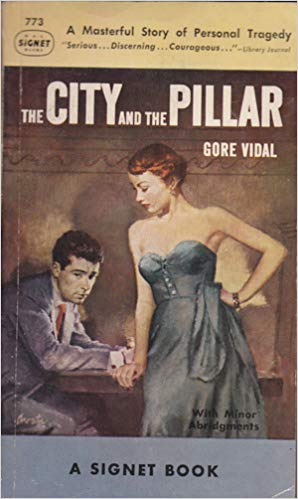 the city and the pillar best gay fiction books