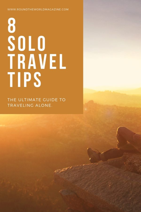 Best solo travel tips